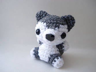 Amigurumi Wolf Crochet Pattern, cute stuffed animal, digital ... | 250x333
