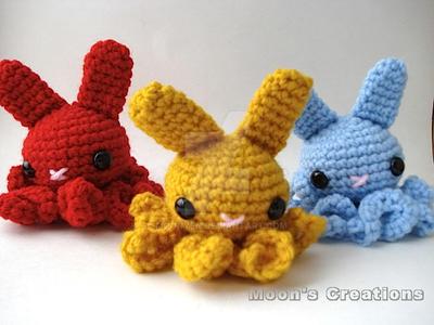 Octo-Buns by MoonYen