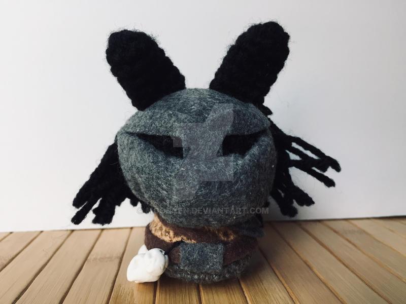 Predator Moon Bun by MoonYen