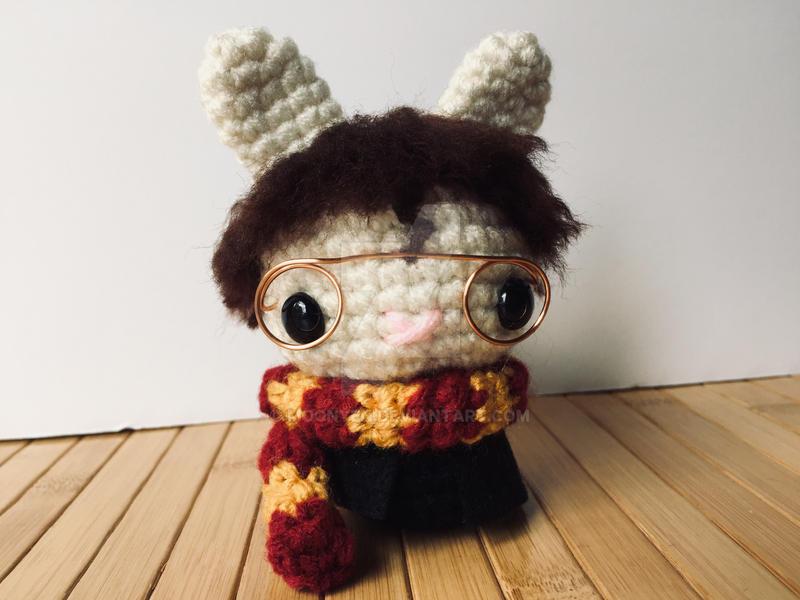 Harry Potter Moon Bun by MoonYen