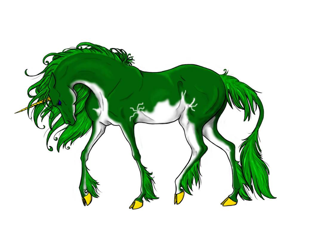 Green Ooneecorn