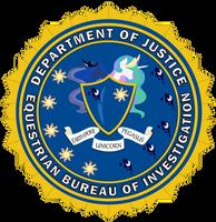 EBI - Equestrian Bureau of Investigation (FBI) by cxfantasy