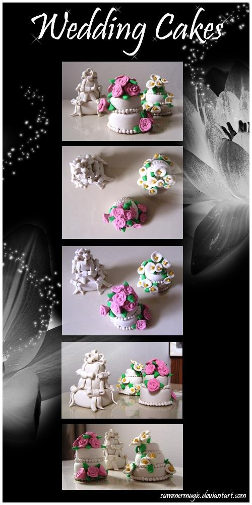 Wedding Cakes by summermagic on deviantART
