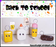 Back to School Charms by summermagic