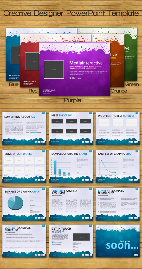 Designer Powerpoint Templates