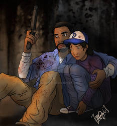Lee and Clem #TWD