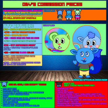 BV's Commission Info (Open) by OfficialBloodyvision