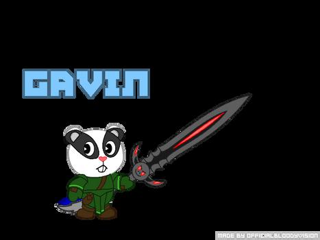 Gavin the Badger (HTF Version)