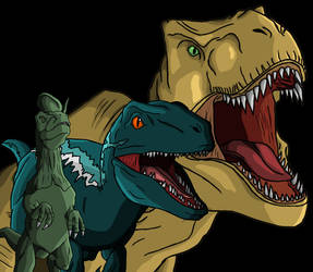 Dinosaurs by ItsFurryGuy4542