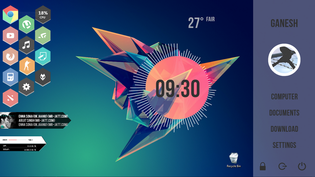 how to download rainmeter skins from deviantart
