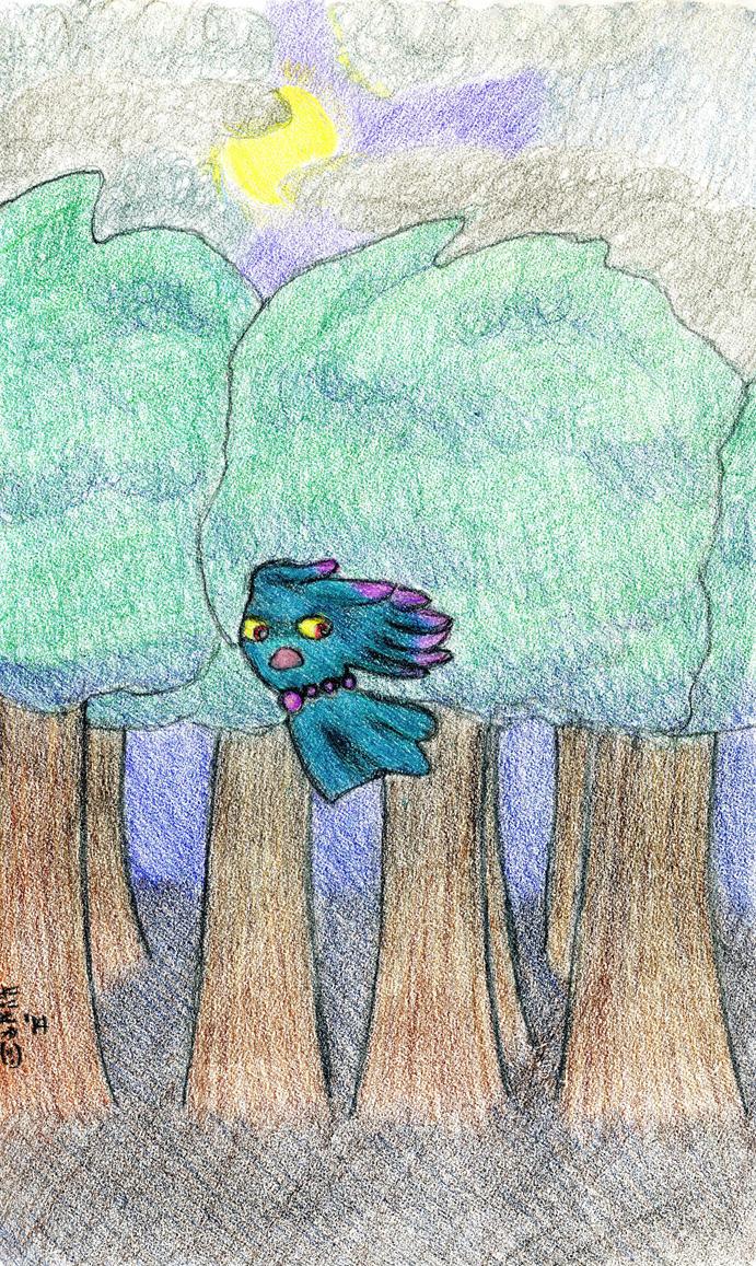 Things that Shriek in the Dark by SirWongIII