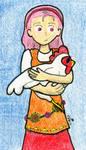 Popuri and Chicken by SirWongIII