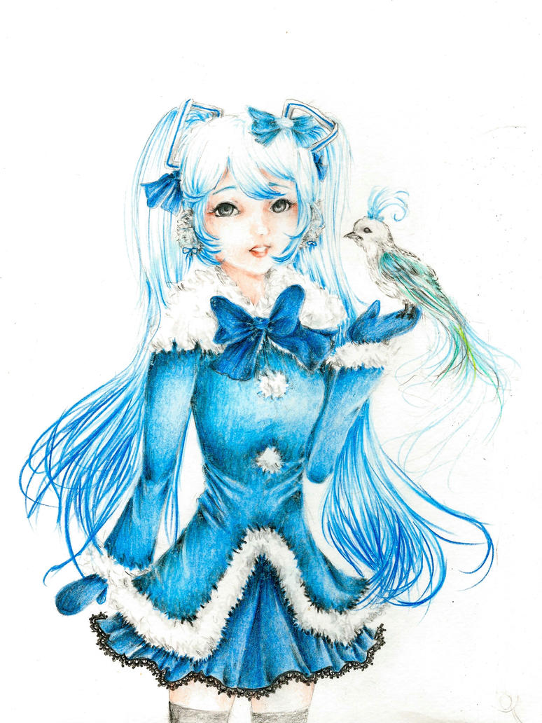 Winter Miku by Yumi---Chan