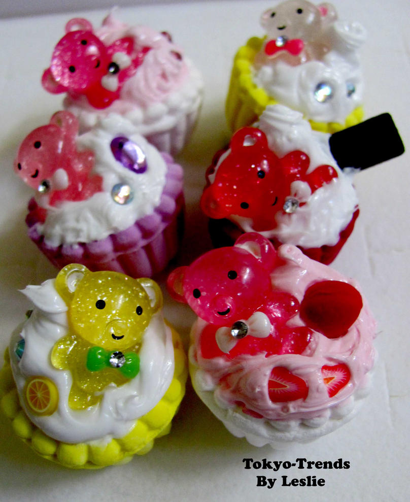 Cupcake Bears1 by Tokyo-Trends