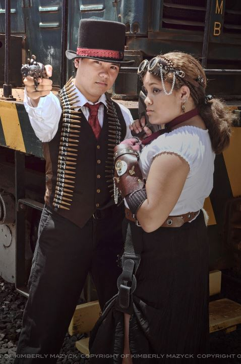 Steampunk Couple by Tokyo-Trends