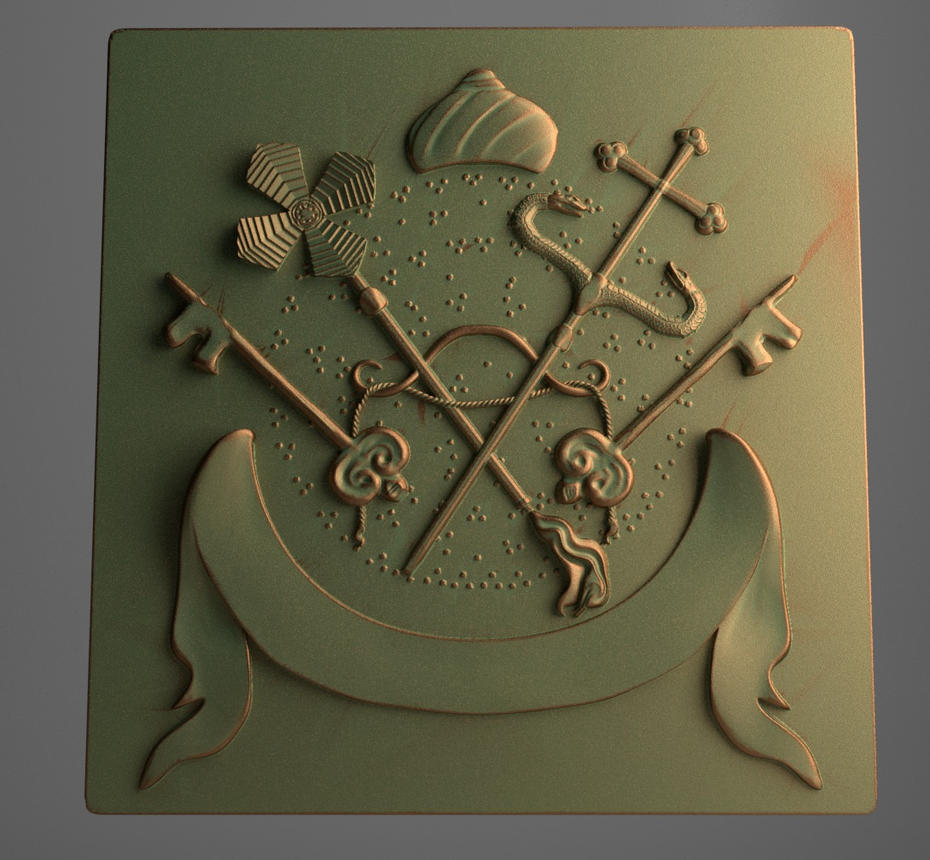 Emblem of Syriac Orthodox Church by mihciko