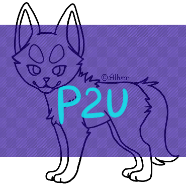 P2U Interchangable Chibi Dog Base by Allvar