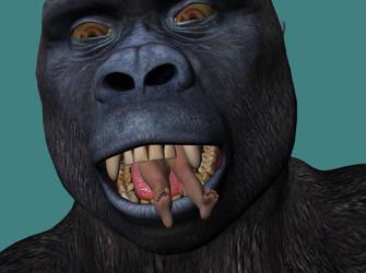 Kong27 by echobabylon