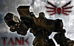 Quake Strogg Tank Wallpaper