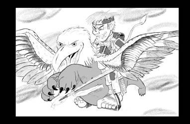 Winged Raider by MrTenso
