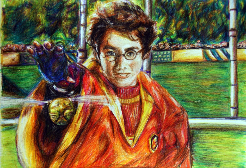 Harry Potter by Alena-Koshkar