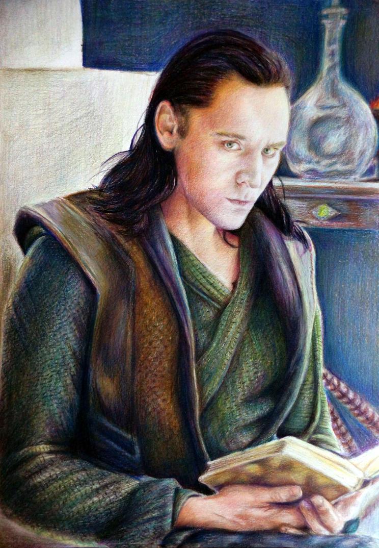 Loki by Alena-Koshkar