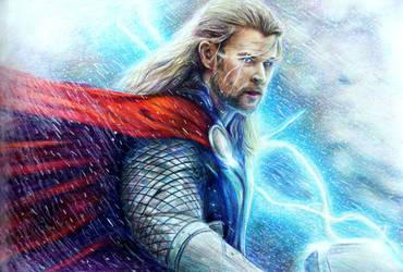 Thor: The Dark World by Alena-Koshkar