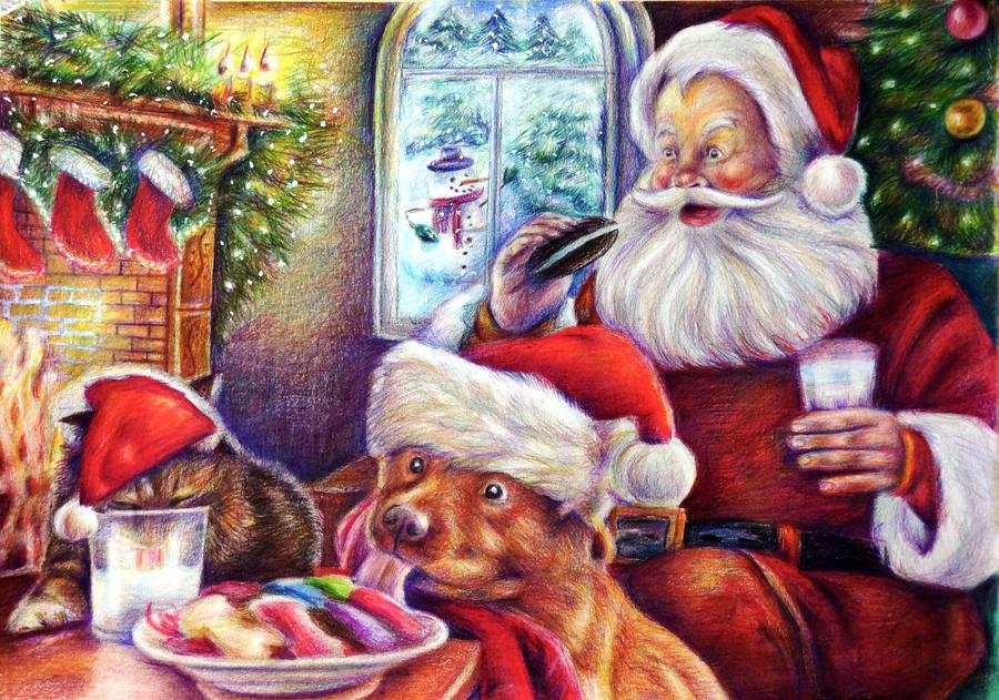 One Christmas Night by Alena-Koshkar