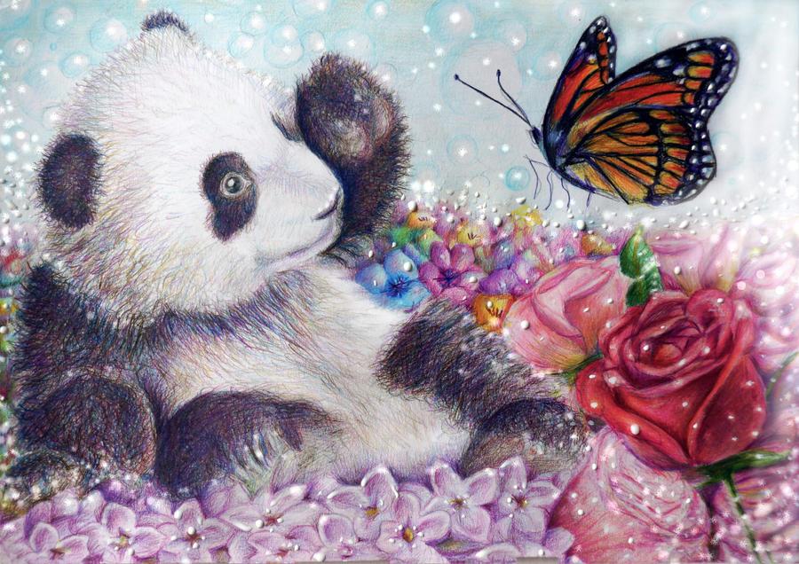 Little Panda by Alena-Koshkar