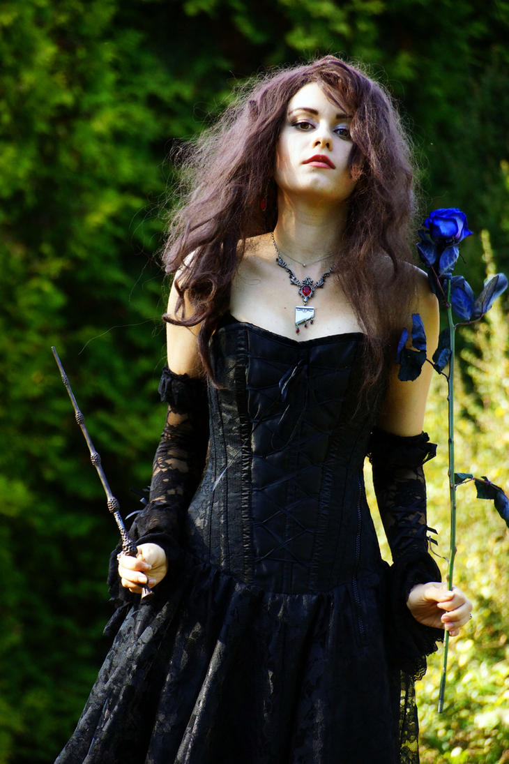 Bellatrix Lestrange ( work in progress) by Alena-Koshkar