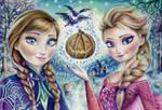 Anna and Elsa ( Halloween)
