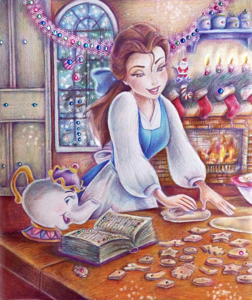 Belle (Christmas Cookie) by Alena-Koshkar