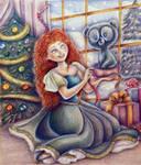 Merida (Christmas time)