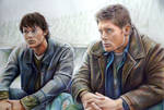 Sam and Dean Winchesters (WIP) by Alena-Koshkar