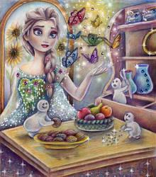 Frozen fever by Alena-Koshkar