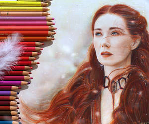 The Red Priestess - Game of Thrones