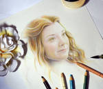 Margery Tyrell ( Game of Thrones) Wip