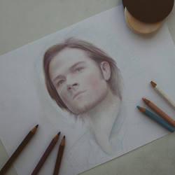 Sam Winchester (Wip) by Alena-Koshkar