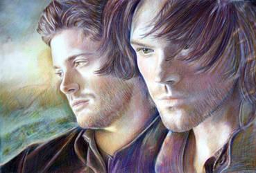 Sam and Dean by Alena-Koshkar