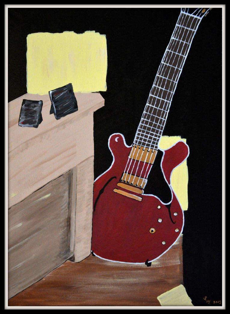Guitar by summerstone