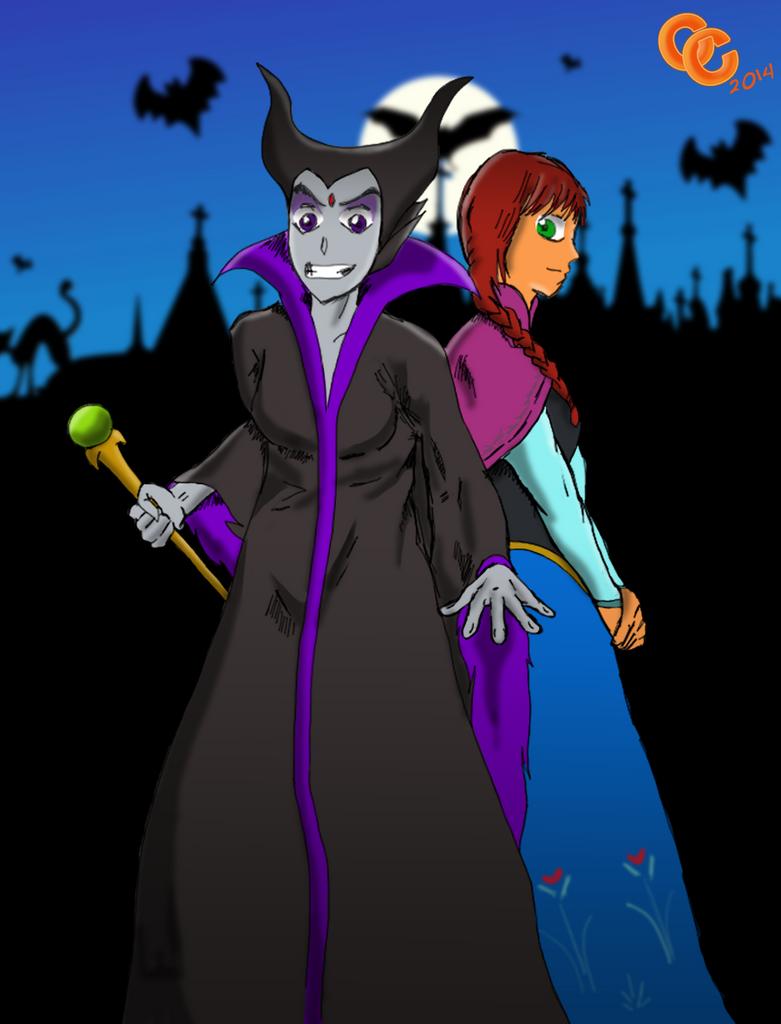 Disney Titans - Halloween 2014 by The-C-Commander