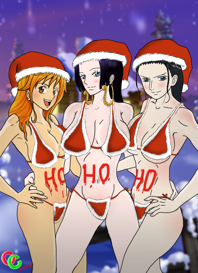 Dreaming of a Hot and Curvy Christmas by The-C-Commander