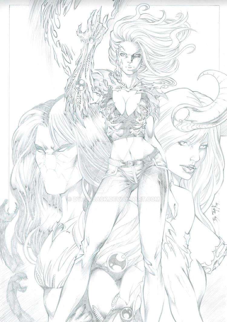 The darkness angelus hentai 5