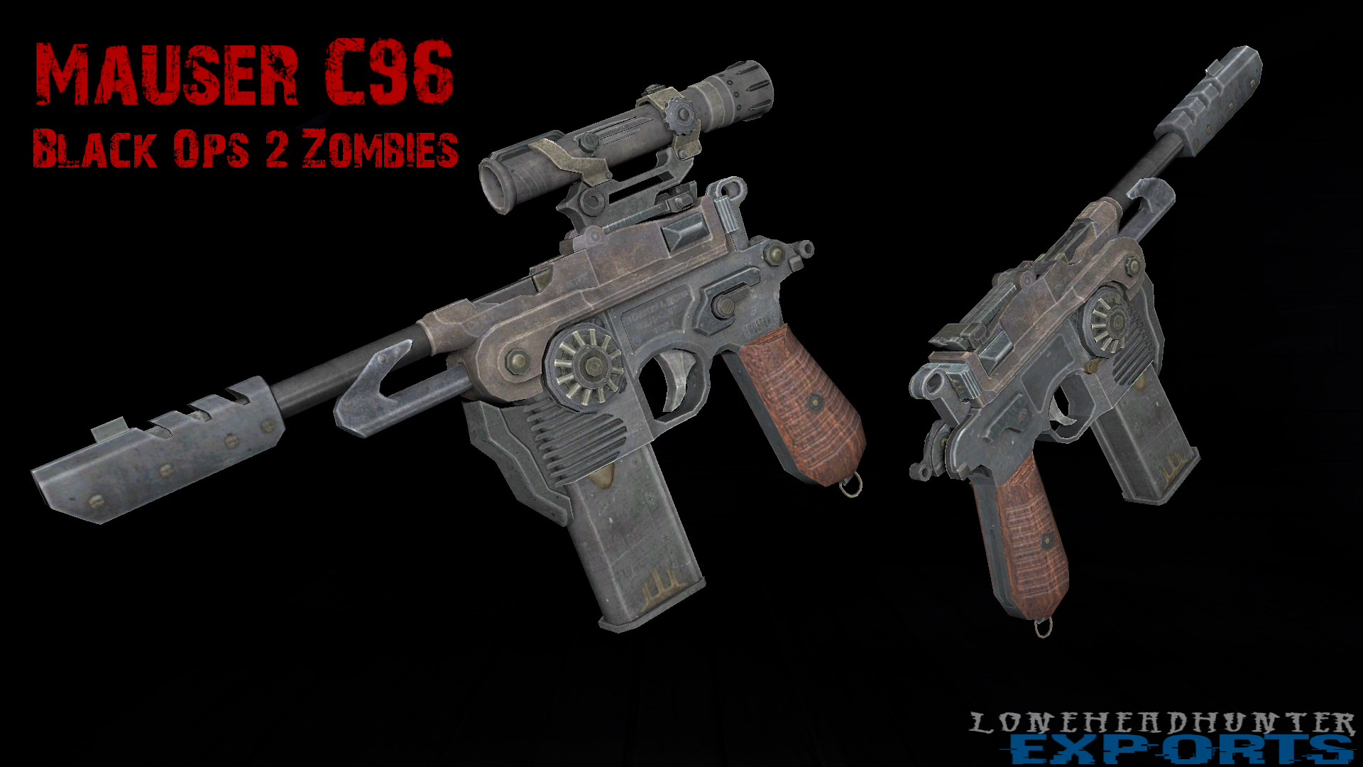 Mauser C96 Pack A Punched