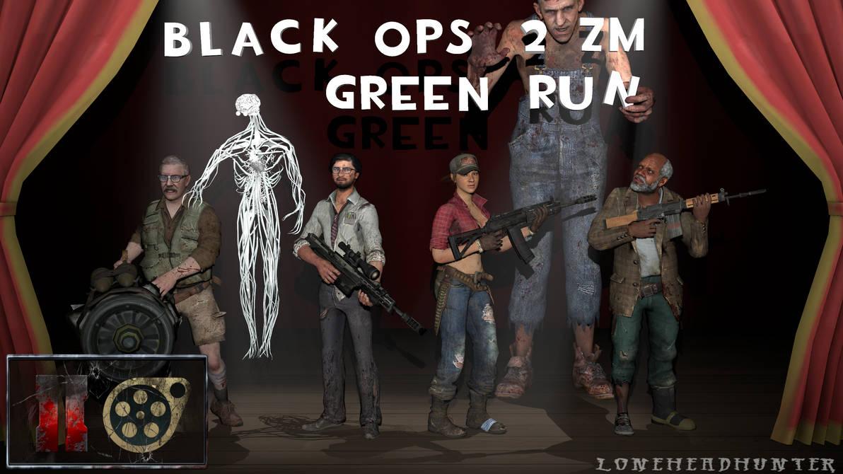 DL] Black Ops 2 ZM - Green Run Team +Extras [SFM] by Jacob