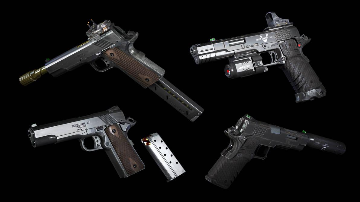Sfm M1911 Black Ops 3 By Jacob Lhh3 On Deviantart