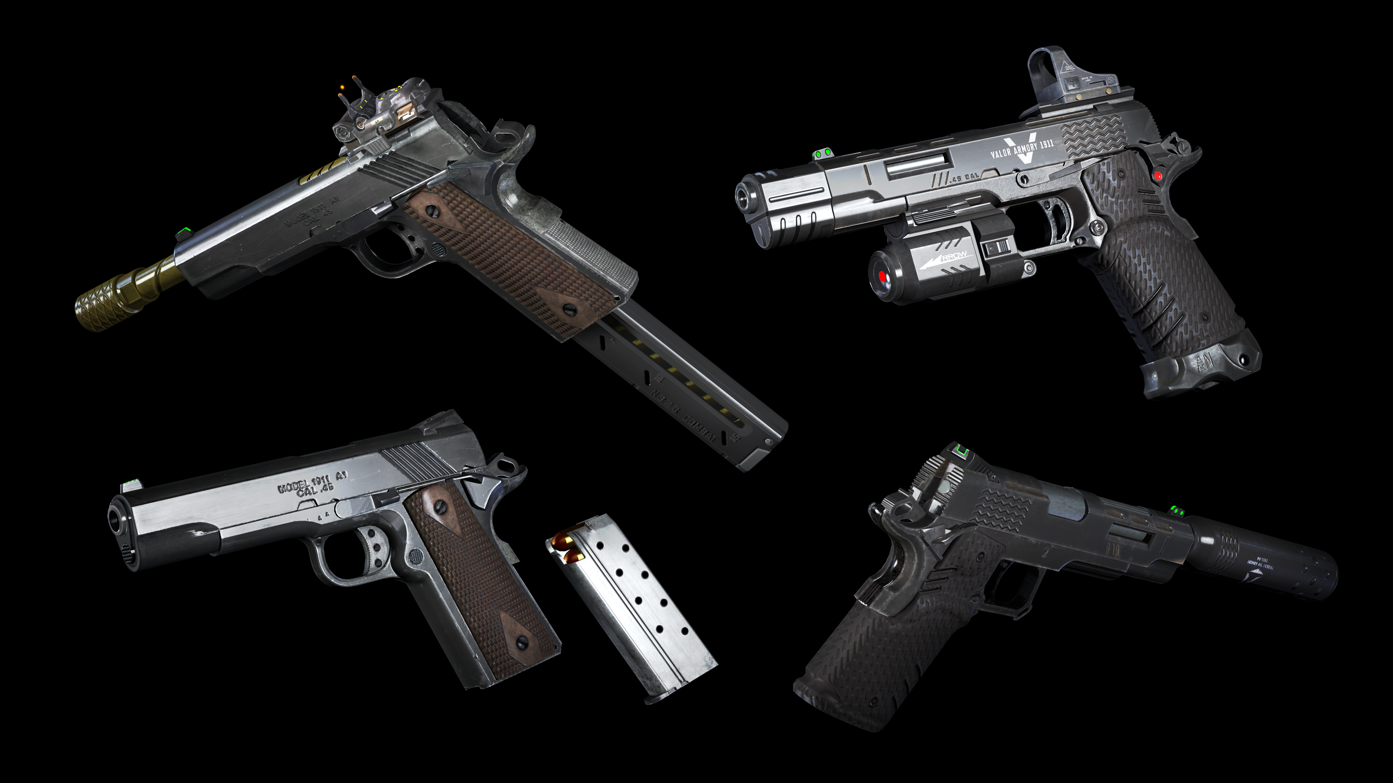all black ops 3 weapons