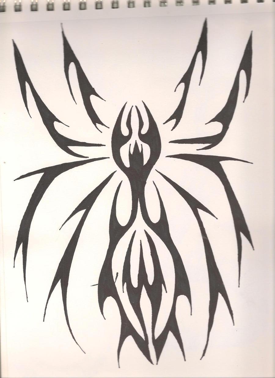 Tribal Spider by RegalSaphirion on DeviantArt