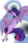 Twilight Sparkle's Lunar Eclipse