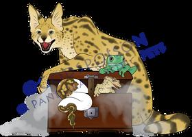 -Logo Design- Pandora's Exotic Pets